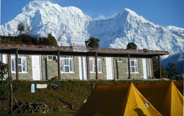View from Austrian Camp